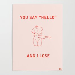 lonesome love Poster