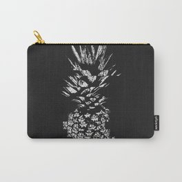 Pineapple with Glitch Carry-All Pouch