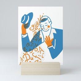 The Power of Poetry Mini Art Print