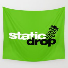 Static drop v7 HQvector Wall Tapestry