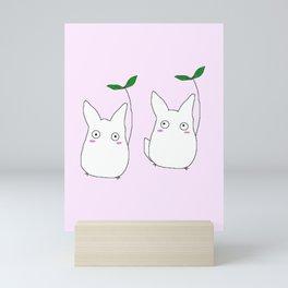 lil Totoros Mini Art Print