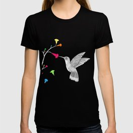Colorful hummingird T-shirt