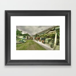 Devon Tractors Framed Art Print