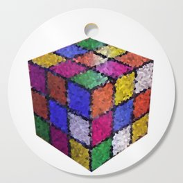 The color cube Cutting Board