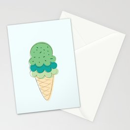 Ice Cream + Sprinkles Stationery Cards