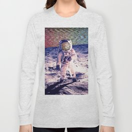 Space Static Long Sleeve T-shirt