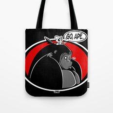 GO, APE Tote Bag