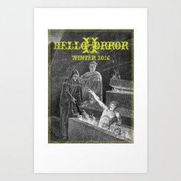 HelloHorror Issue 17 - Dante's Inferno Art Print