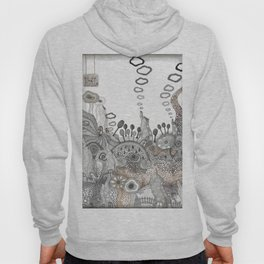 """Brown"" illustration Hoody"