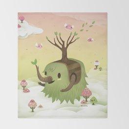 Mossiphants Throw Blanket