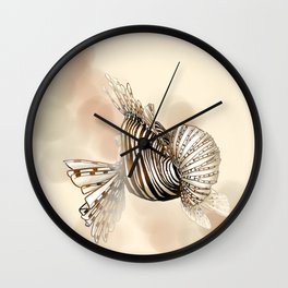 Poisson : Rascasse Wall Clock