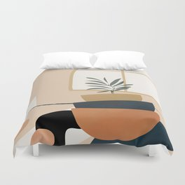 Plant in a Pot Duvet Cover