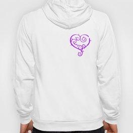 GO. LIVE. NOW. heart logo Hoody