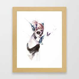 Mourning Framed Art Print