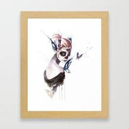 Mourning Framed Art Print