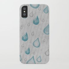 Spring Showers Slim Case iPhone X