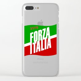 Forza Italy 2018 Clear iPhone Case
