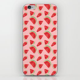 Watermelon Pattern Pin iPhone Skin