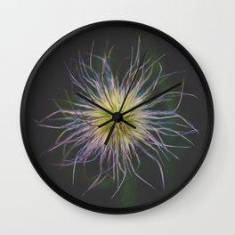 Nature Neuron // Macro Photo Wall Clock