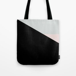 Pastel Triangle Black Based /// www.pencilmeinstationery.com Tote Bag