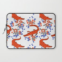 Florida University gators swamp life varsity team spirit college football Laptop Sleeve