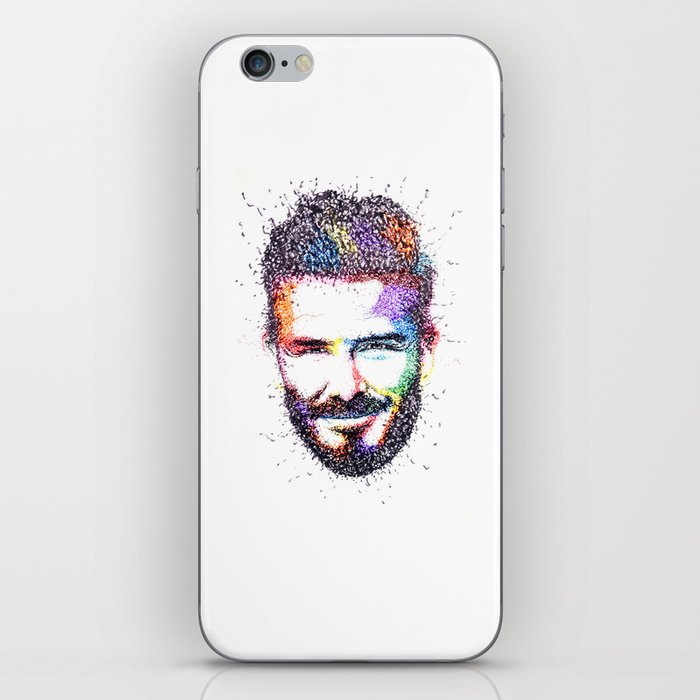 BECKHAM iPhone Skin