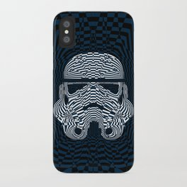 Storm and radiation iPhone Case