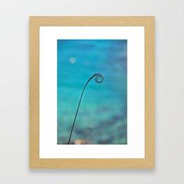 Curl of the Sea Framed Art Print