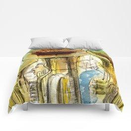 Tubas playing Comforters