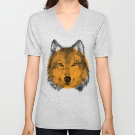 Wild 7 - by Eric Fan and Garima Dhawan Unisex V-Neck