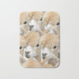 Alpaca Herd Bath Mat