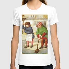 Medieval cleaning T-shirt