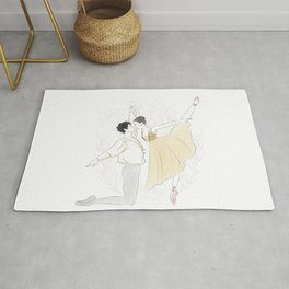Romeo and Juliet  Rug