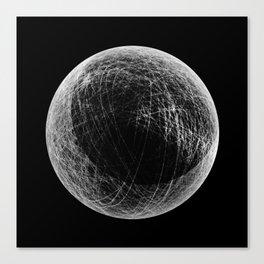 planet B (eclipse) Canvas Print