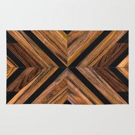 Urban Tribal Pattern 3 - Wood Rug