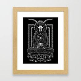 Baphomet Inner Peace Framed Art Print