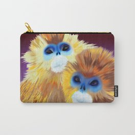 Blue Monkeys Carry-All Pouch