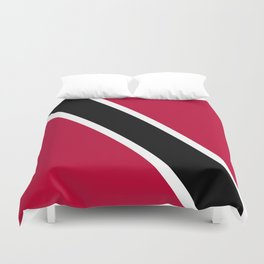 Trinidad and Tobago flag emblem Duvet Cover