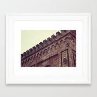 team fortress Framed Art Prints featuring Fortress by BrandonAddisArt