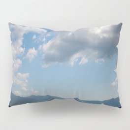 Sunshine, Clouds and Shadows Over The Bay Of Marmaris Pillow Sham