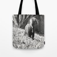 poodle Tote Bags featuring Poodle by Quotably Yours