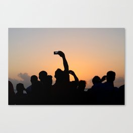 Key West Mallory Square Canvas Print