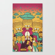 Mars Attacks! Canvas Print