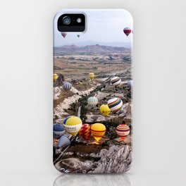 Air Ballons, Cappadocia, Turkey. iPhone Case