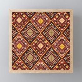 Saputangan - an Indigenous Filipino Tapestry Framed Mini Art Print