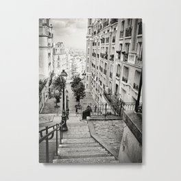 Bohemian downstairs Metal Print