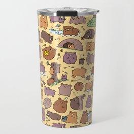 Beary Cute Bears Travel Mug