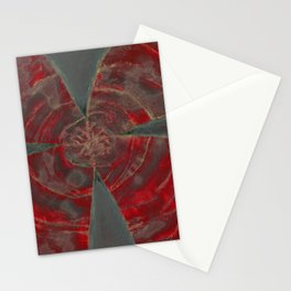 Ominous Red Stationery Cards