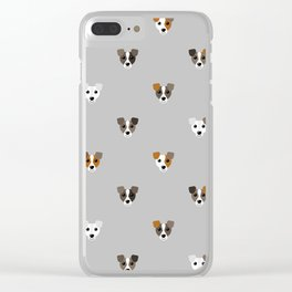 Jack Russell puppies Clear iPhone Case