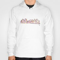 sydney Hoodies featuring Sydney by Ursula Rodgers